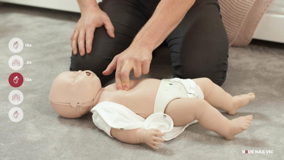 Základy první pomoci udětí - resuscitace