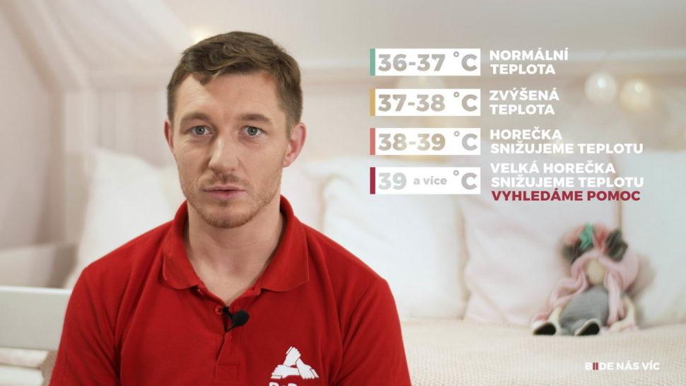 Základy první pomoci udětí - teploty afebrilní křeče