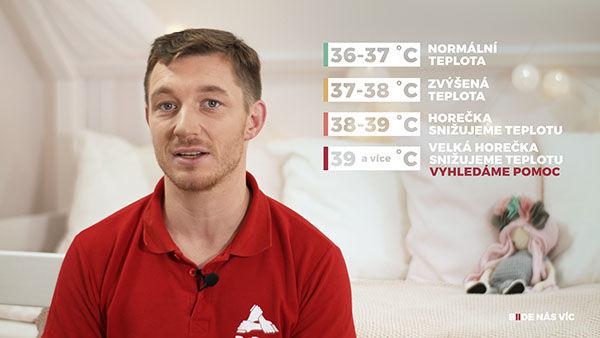 Teploty afebrilní křeče