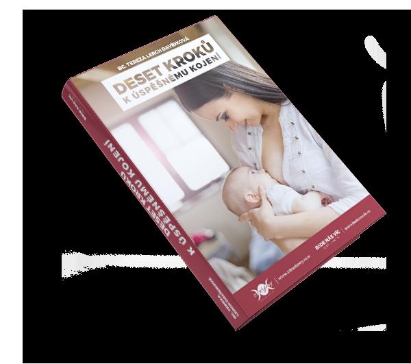 V e-booku snázvem Deset kroků kúspěšnému kojení získáte informace otom, jak se nakojení připravit, aco nás může nepříjemně zaskočit.