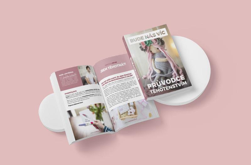 V rámci našeho e-booku Průvodce těhotenstvím se dozvíte, co se děje svaším tělem vdobě těhotenství.
